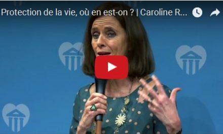 Protection de la vie humaine : les paradoxes de notre temps   Caroline Roux