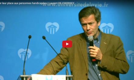 Redonner leur place aux personnes handicapées | Laurent DE CHERISEY