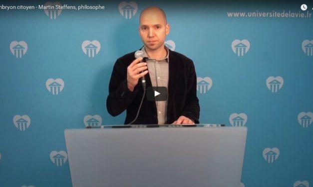 L'embryon, citoyen ? | Martin STEFFENS