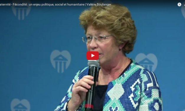 Maternité – Fécondité : un enjeu politique, social et humanitaire | Valérie Boulanger