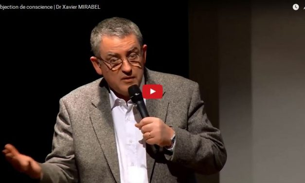 L'objection de conscience | Dr Xavier MIRABEL